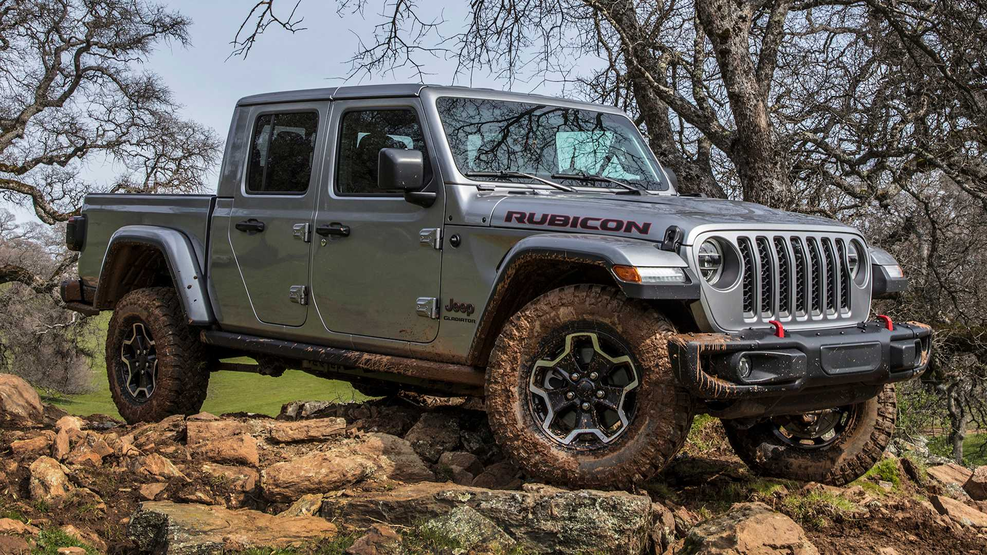 2020 Jeep Gladiator Off Road