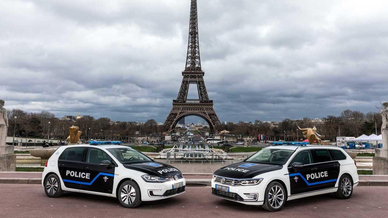 Volkswagen, Polizei, Paris