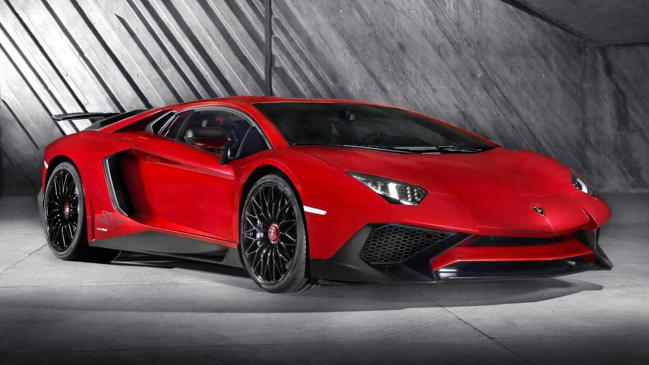9. Lamborghini Aventador