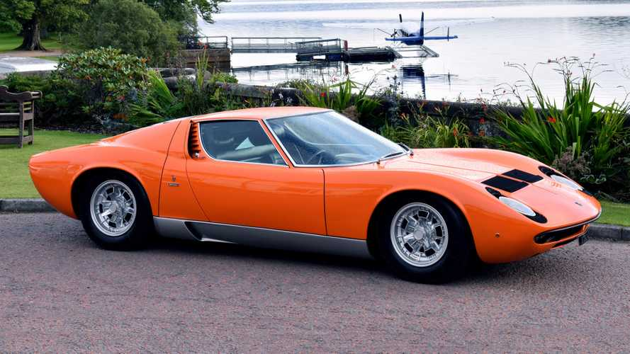 Lamborghini Miura to be celebrated at London Concours