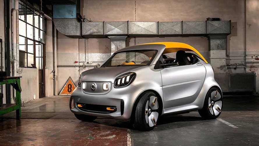 Smart Forease+ konsepti Cenevre'deki en küçük cabrio olacak