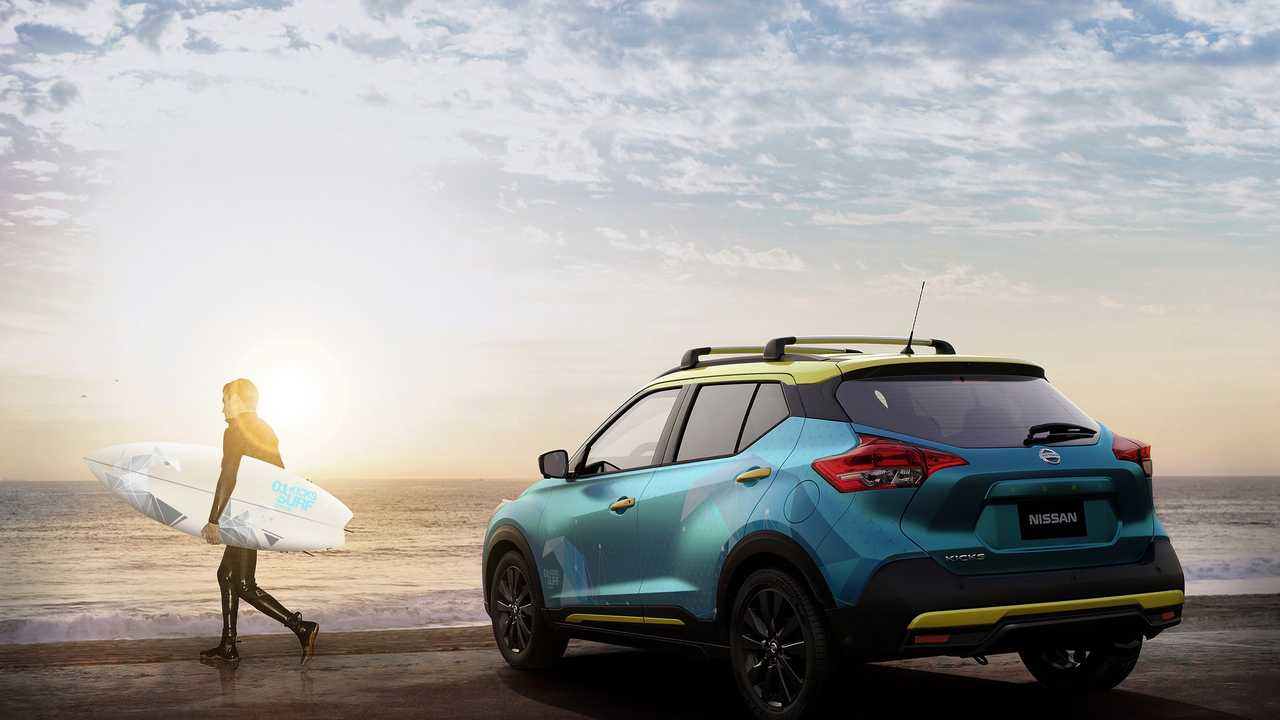 nissan kicks surf concept photos. Black Bedroom Furniture Sets. Home Design Ideas