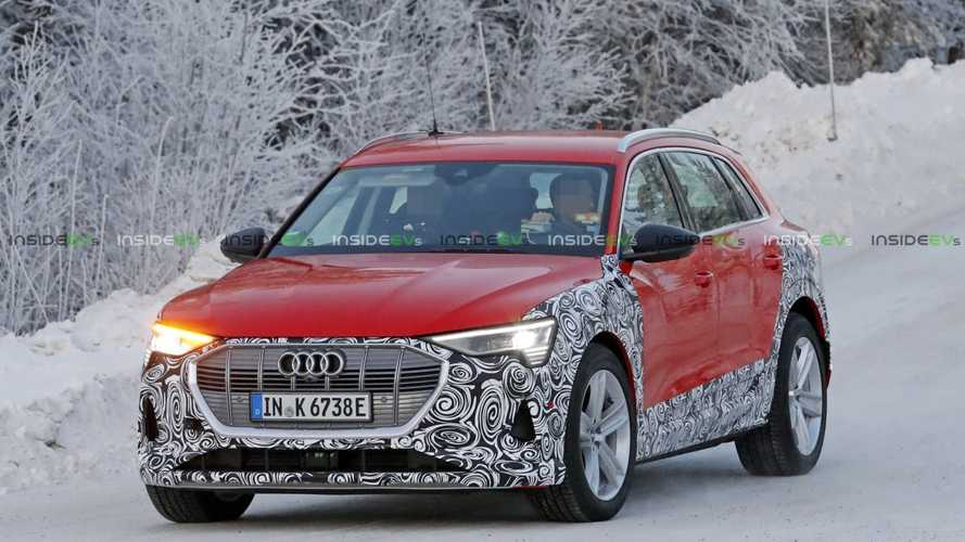 More Powerful Audi E-Tron Allroad Spied