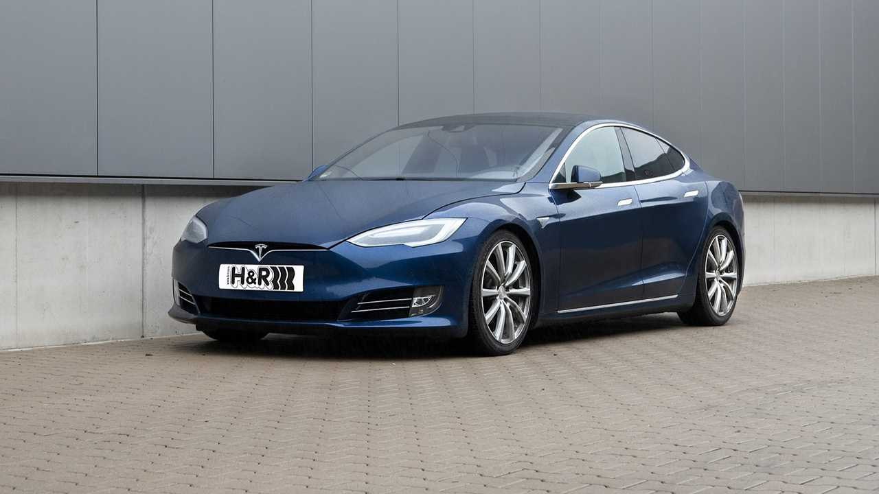 H&R Sportfedern Tesla Model S