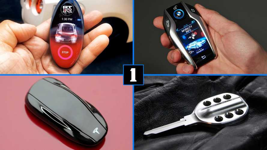 11 Cool Car Keys That We'd Love To Collect