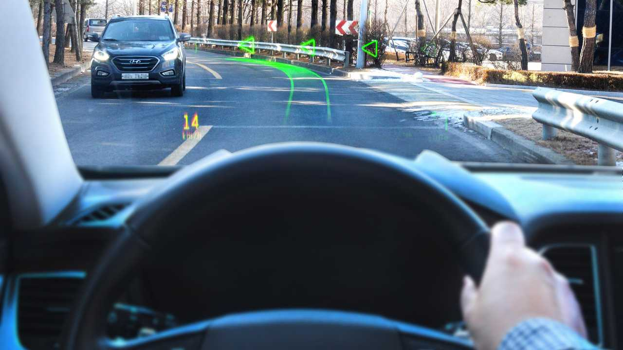 Il sistema di navigazione olografico a realtà aumentata di Hyundai