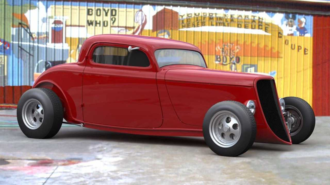 Boyd Coddington\'s Vern Luce Coupe