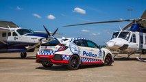 Honda Civic Type R, coche de policía de Nueva Gales del Sur