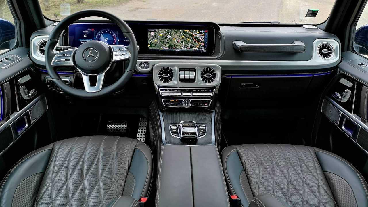 Essai Mercedes Classe G500