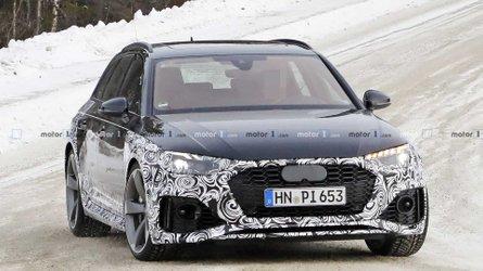 Audi RS4 Avant restyling, le prime foto spia