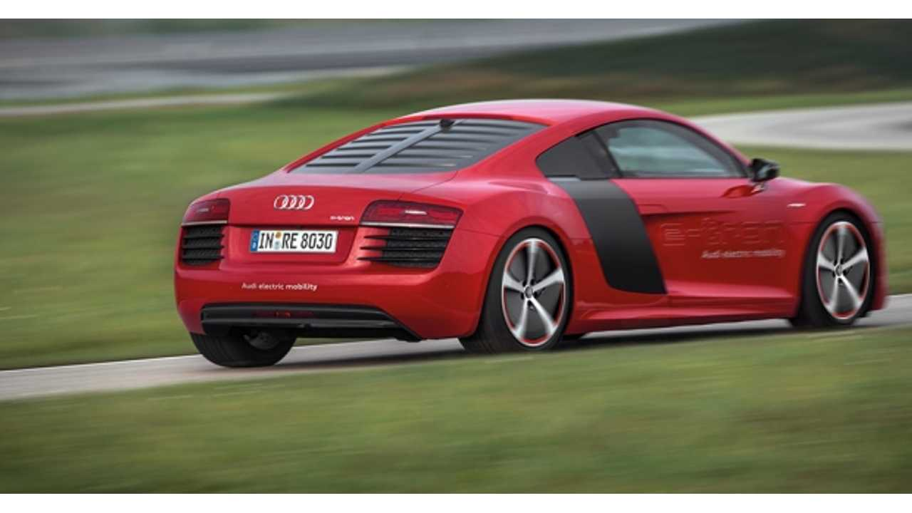 Development of Electric Audi R8 e-tron Still Underway...Limited Production Run a Possibility