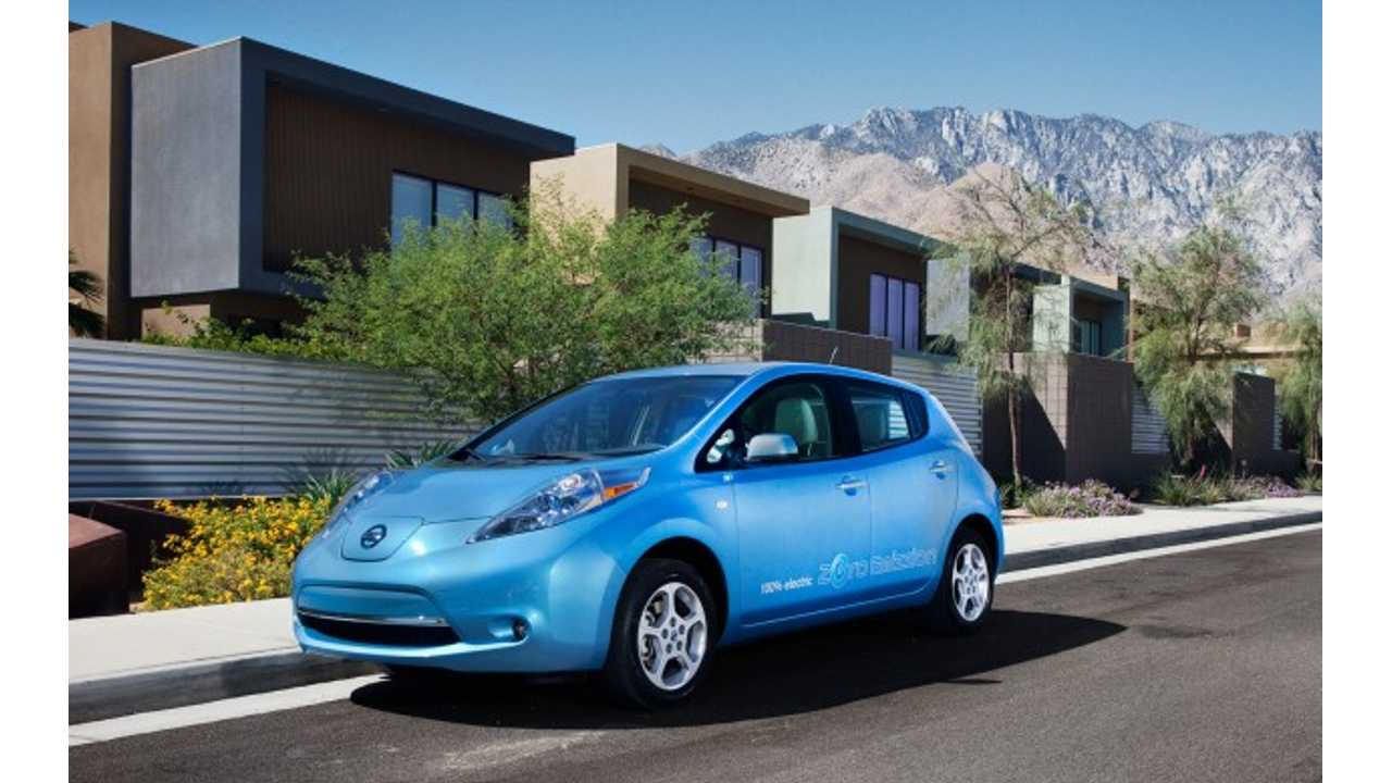 Annual $100 EV-Fee Goes Into Effect February 1st, 2013