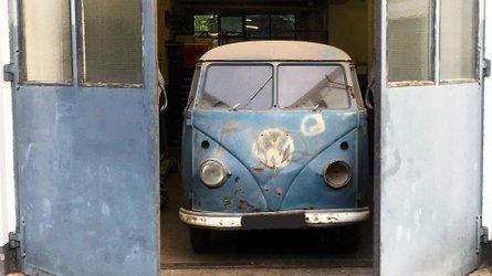 54 év után került elő egy traffipaxszal szerelt Volkswagen Bulli T1