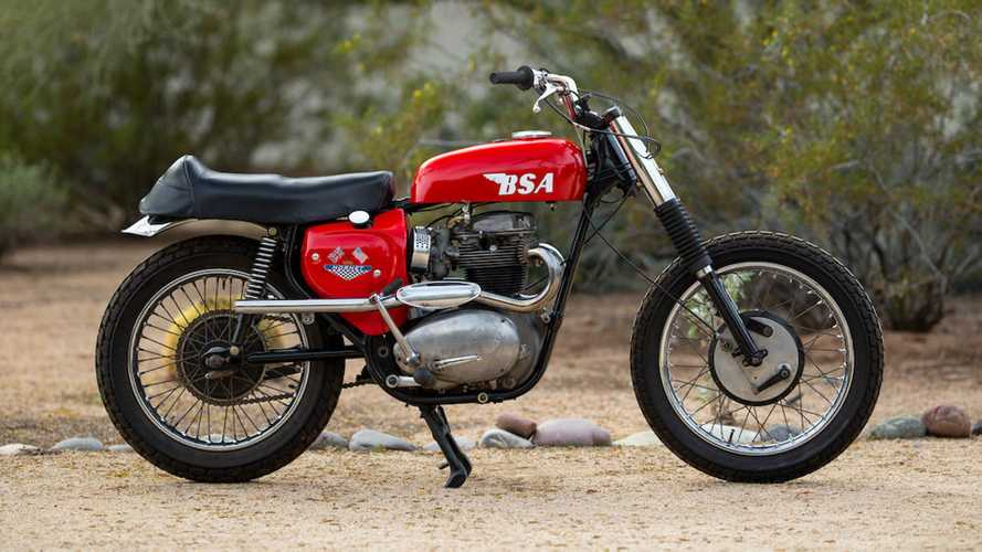 Motorcycles 101: The BSA Hornet Factory Desert Racer