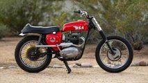 bsa hornet desert sled classic bike