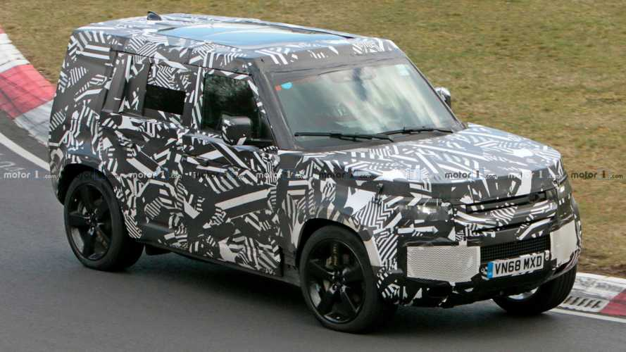 New Land Rover Defender Doesn't Feel At Home Testing At The 'Ring [UPDATE]