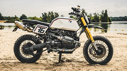 Check Out This Stunning BMW R11100GS Retro Baja Desert Racer