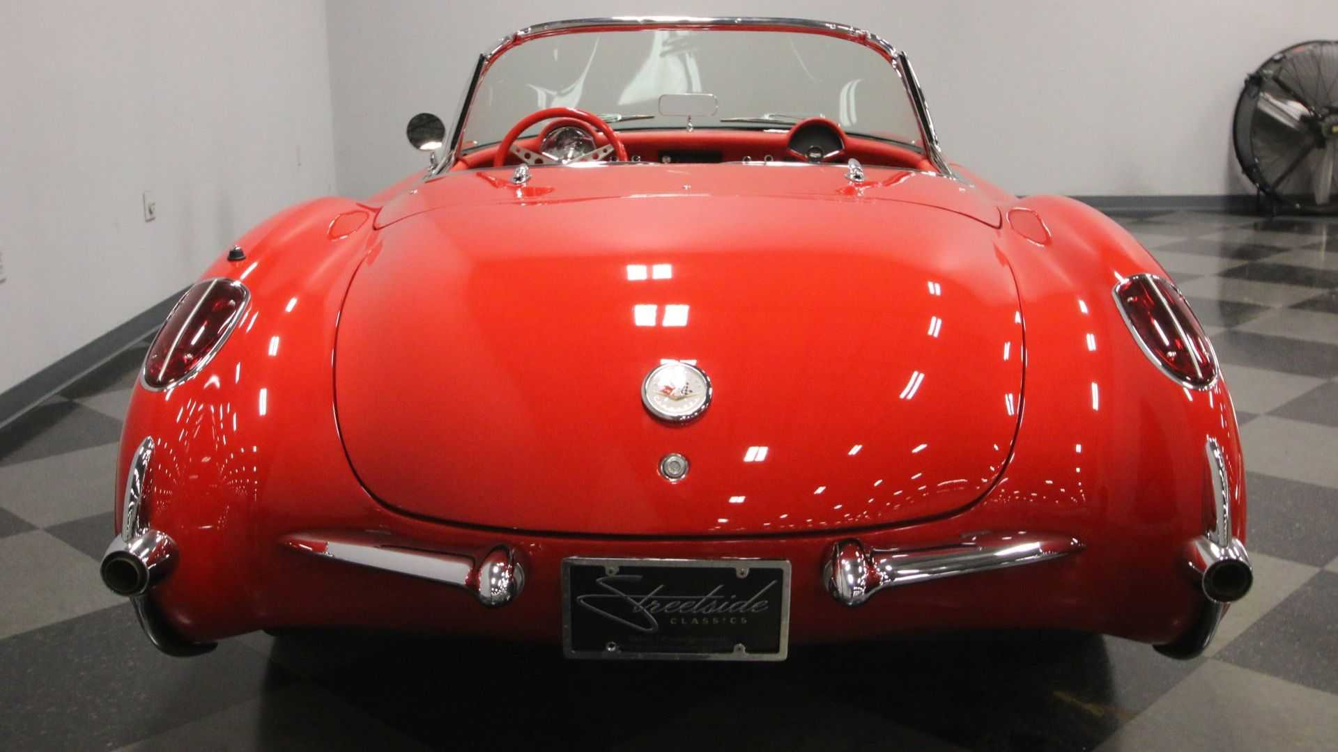 "[""1956 Chevrolet Corvette Restomod""]"