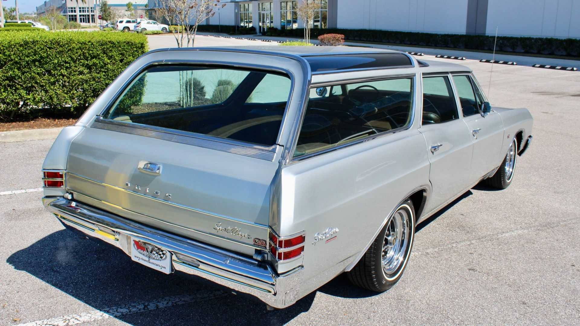 This 1967 Buick GS400 Sport Wagon Is One Fast Family Hauler