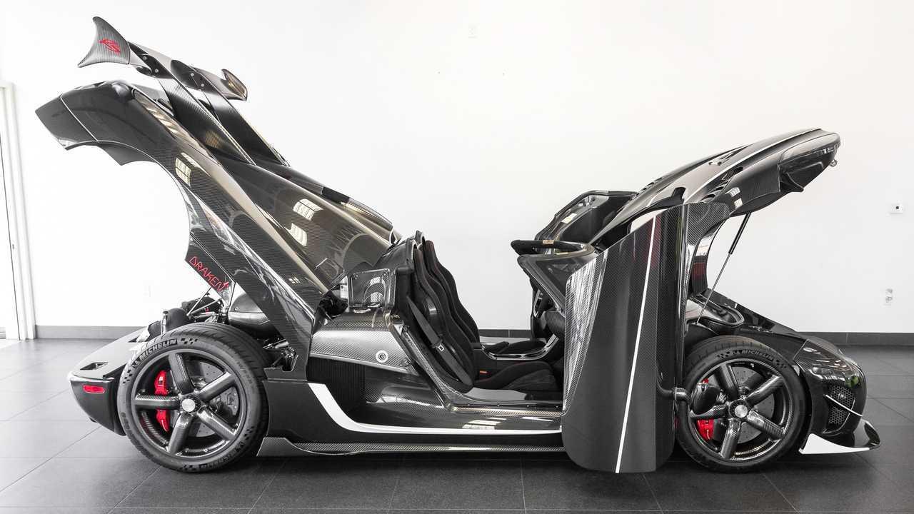 Koenigsegg Agera RS, a la venta