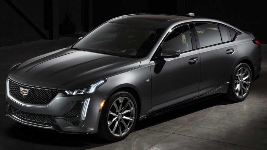 Cadillac анонсировал совершенно новый седан CT5