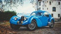 bugatti type 57 atlantic replica