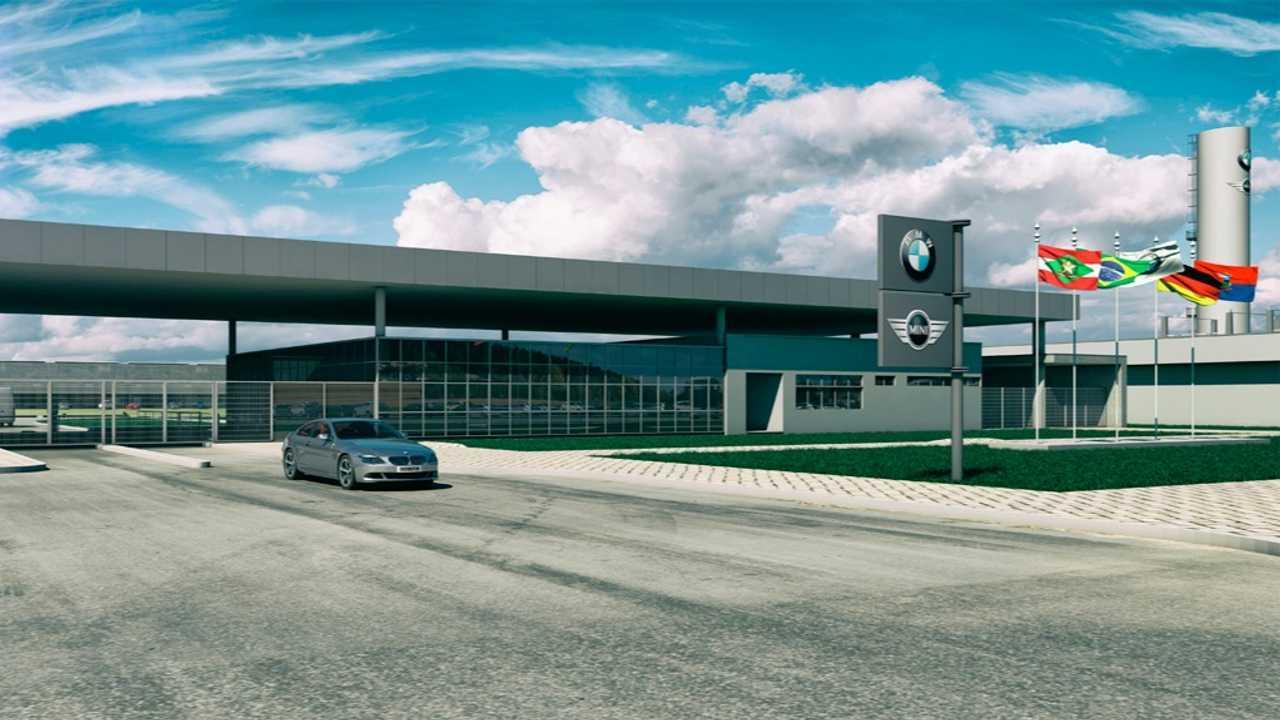 Fábrica da BMW no Brasil