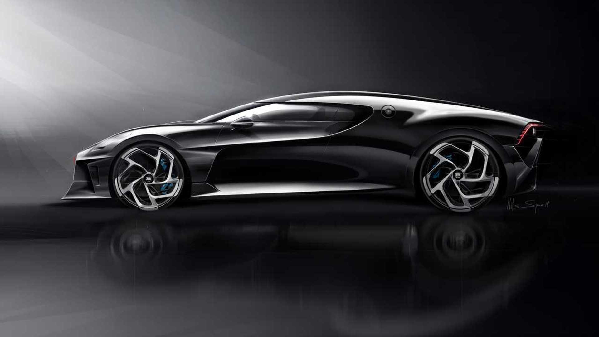 Bugatti La Voiture Noire: Bugatti La Voiture Noire