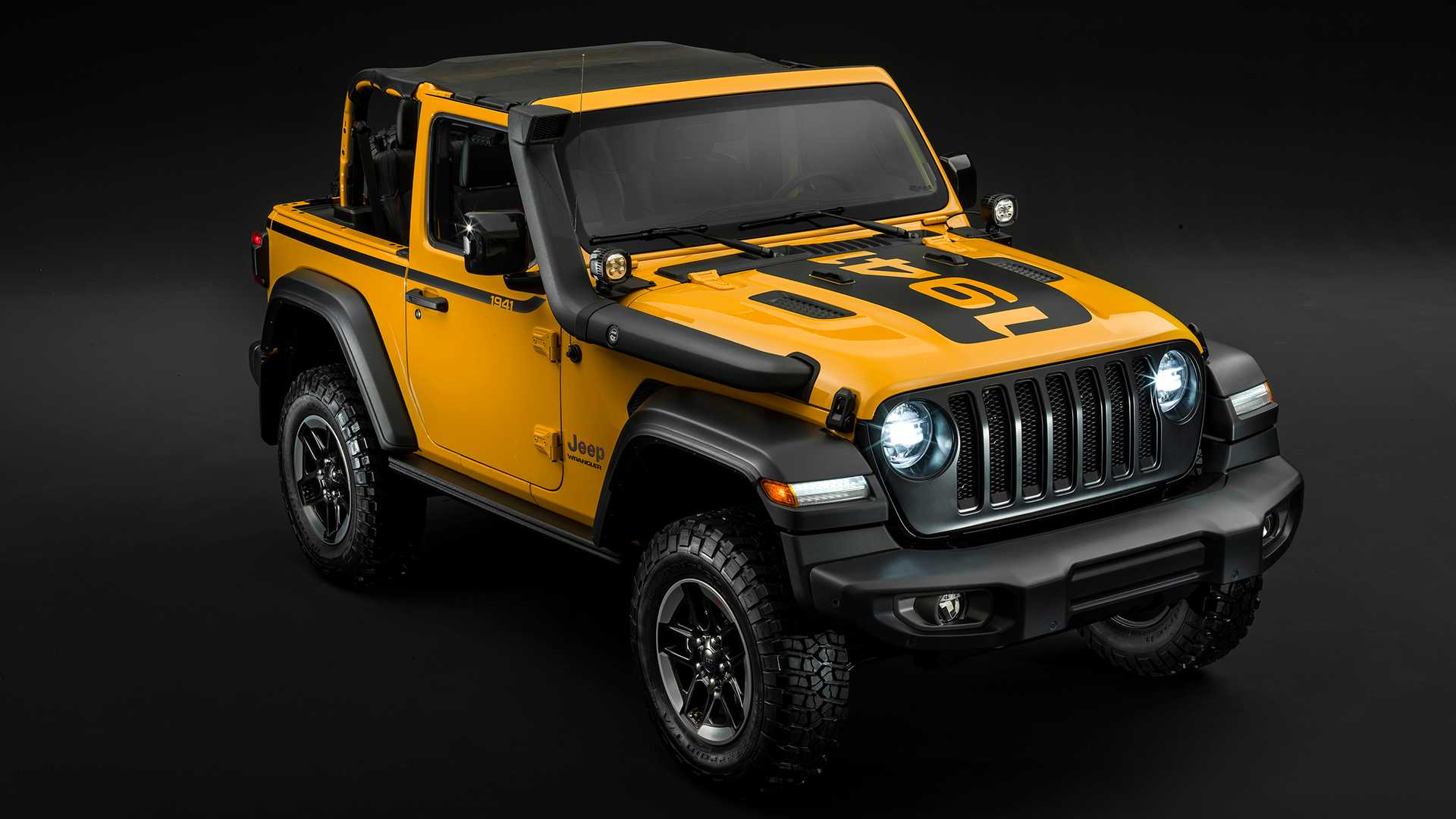 2019 Jeep Wrangler: News, Design, Equippment >> Jeep Wrangler Rubicon 1941 Edition Storms Europe Again