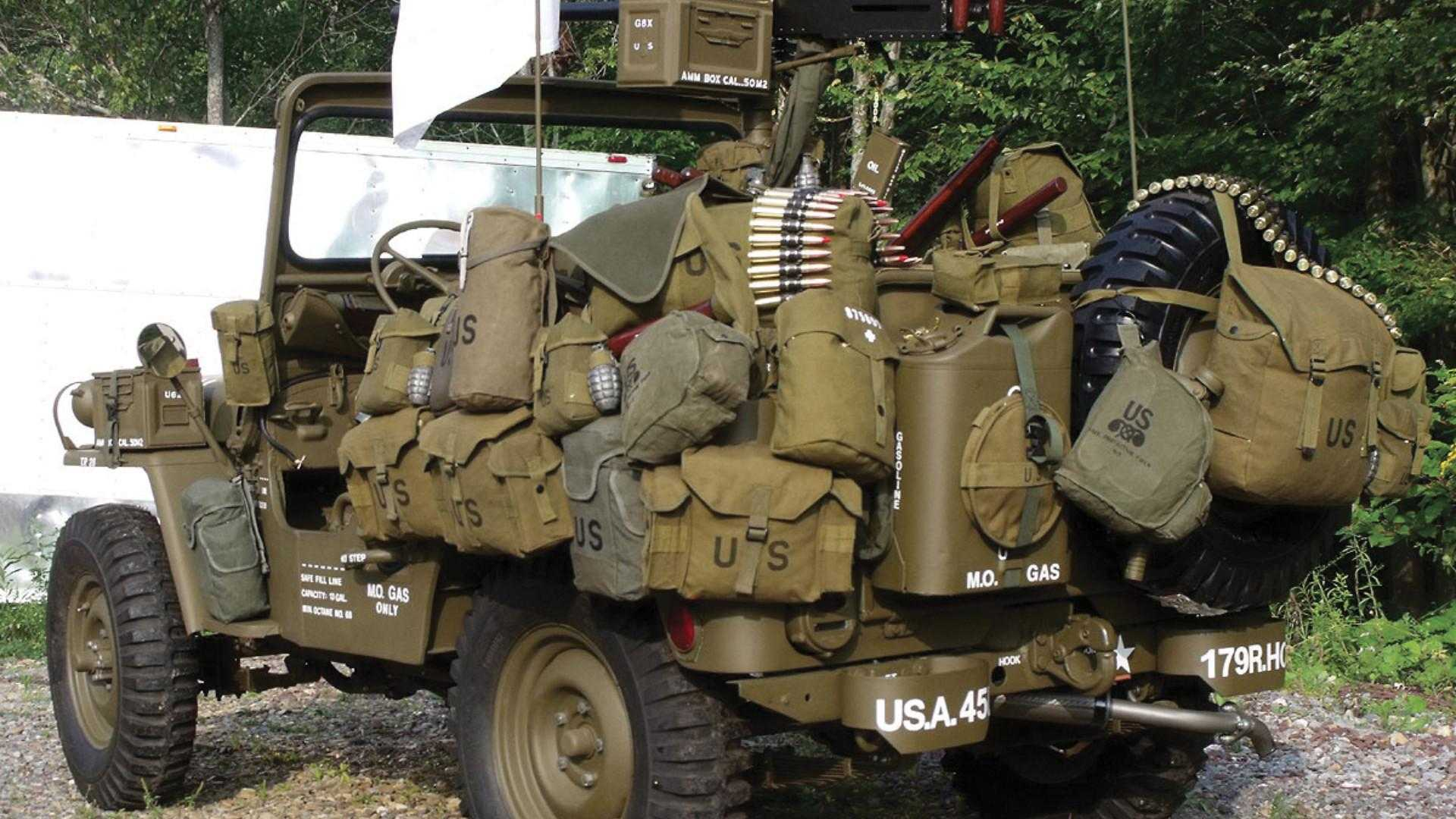 "[""1952 Willys M38 Korean War Jeep""]"