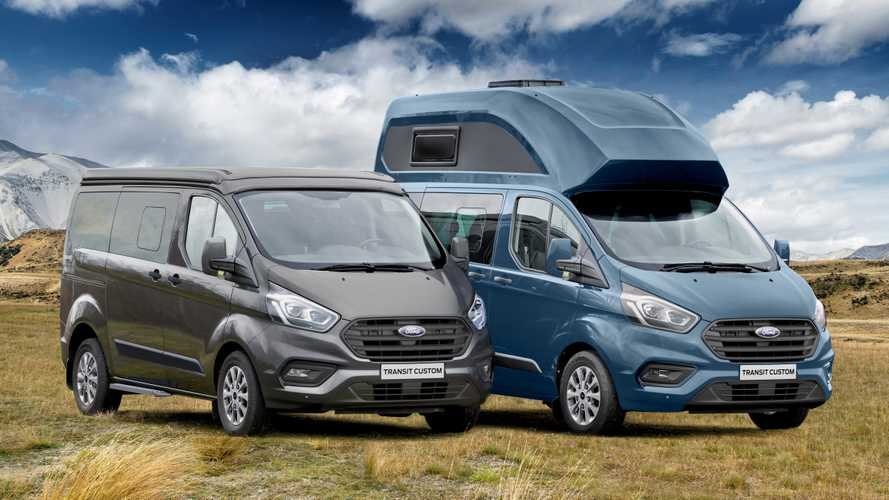 Ford Transit Custom Nugget Camper Van Is A Euro-Market Gem