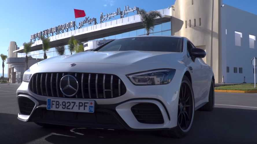 We Took The Mercedes-AMG GT 63 S All The Way Up To 186 MPH