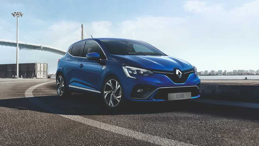 2019 Renault Clio reveals upscale exterior ahead of Geneva debut