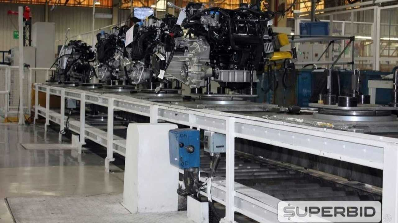 Volkswagen SpaceFox - Leilão da linha de montagem