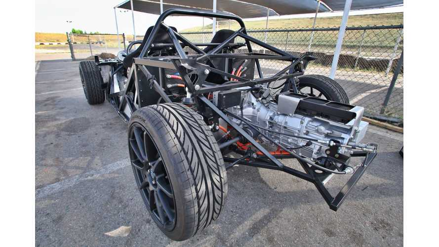 Electric 818 from EV West Hits The Track - Video
