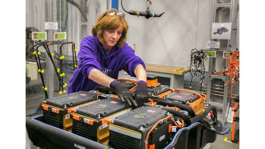 GM Shifts 2015 Chevy Spark EV Battery Production In-House - Pushes A123 Out