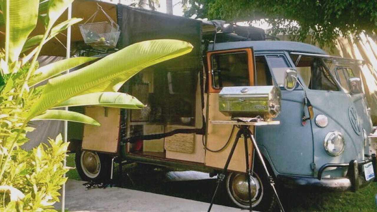 1967 VW Bus camper by Zenbox Design