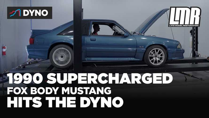How Much Power Does A Supercharged Fox Body Mustang Make?