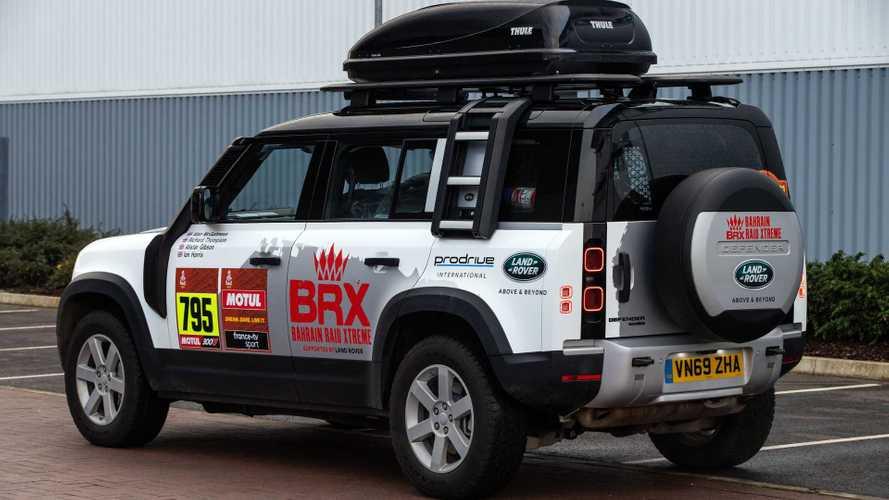 Este es el Defender con el que Land Rover viaja al Dakar 2021
