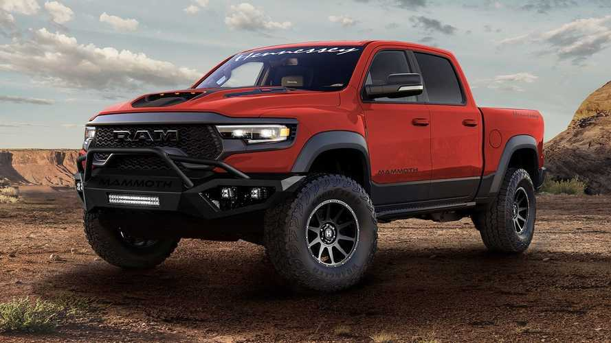 Hennessey Planning 1,000-HP Hellephant Swap For Ram TRX, Durango SRT