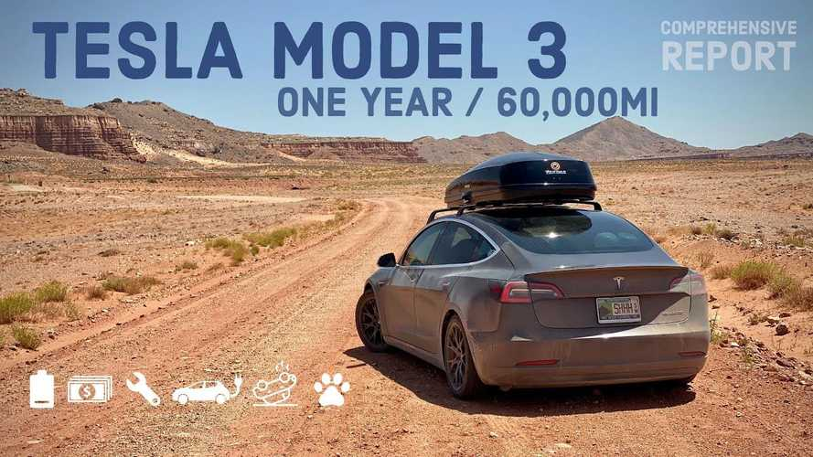 Tesla Model 3 Comprehensive Ownership Report: 1 Year, 60,000 Miles