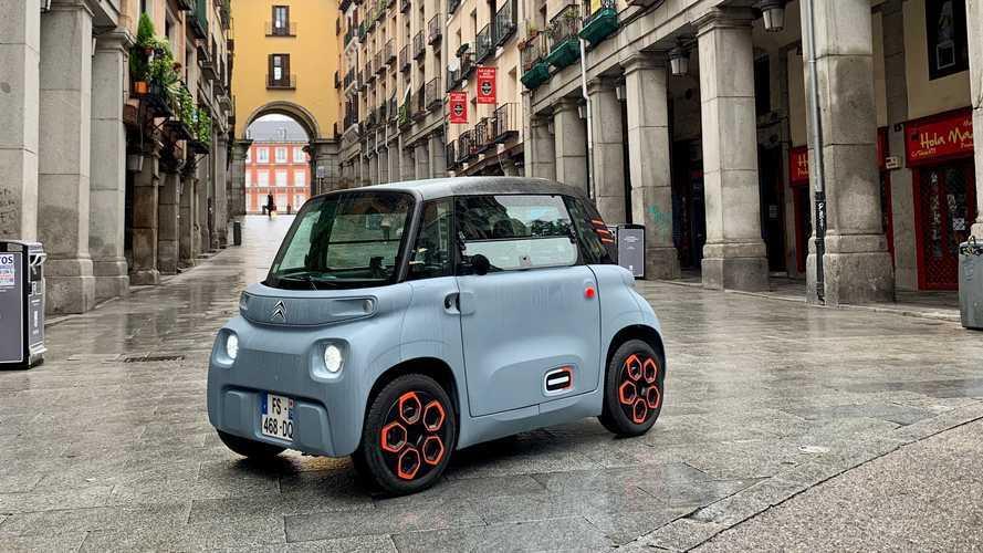 Primera prueba Citroën Ami 2021: el eléctrico de los 6.900 euros