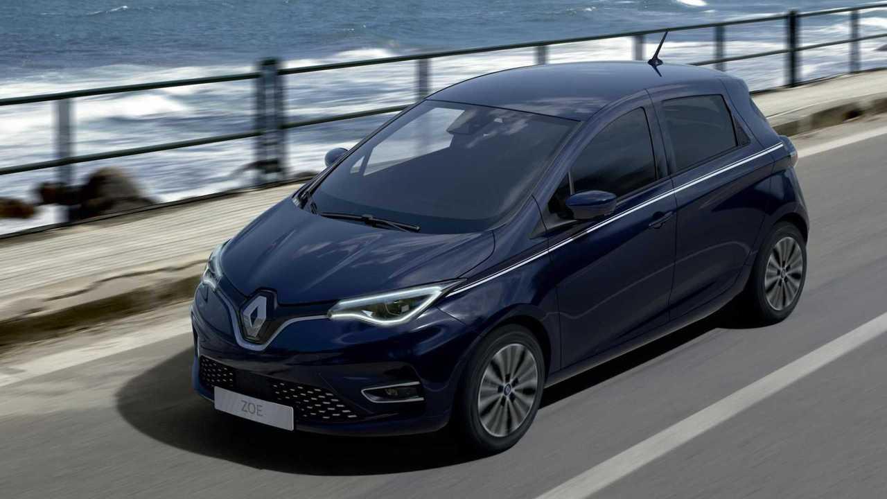 Renault Zoe Riviera (2021): Die neue Variante in Nacht-Blau. Außerdem sind Schwarz und Grau verfügbar.