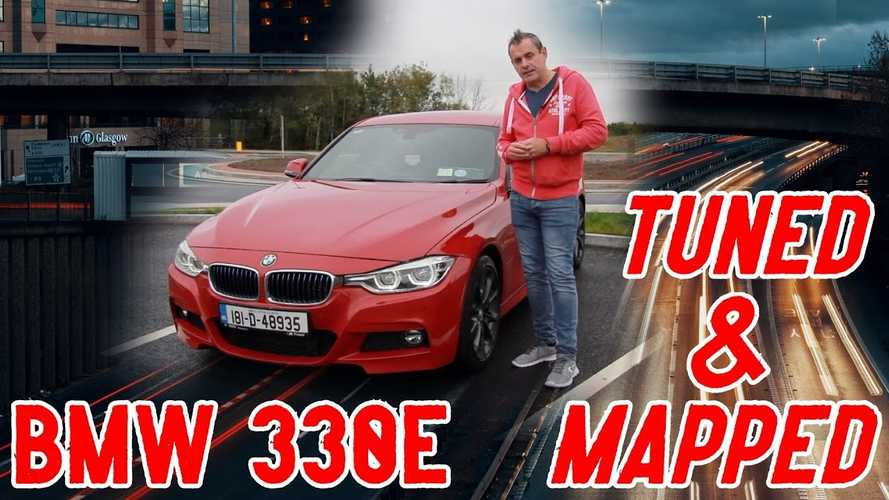 This previous-generation BMW 330e PHEV is remapped to 345 bhp in Ireland