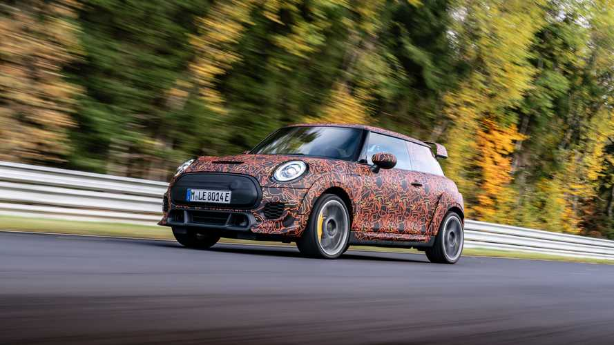 Mini John Cooper Works Electric prototype