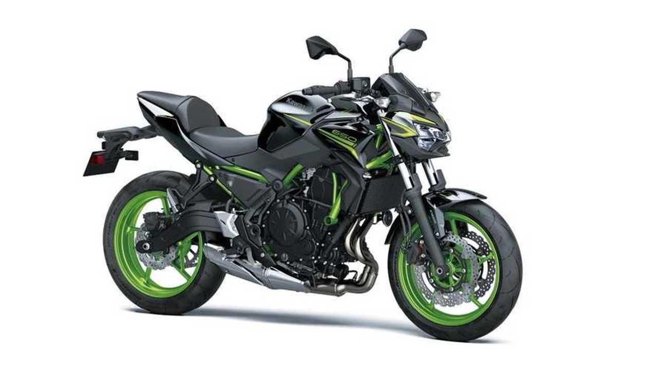 2021 Kawasaki Z650, Metallic Spark Black