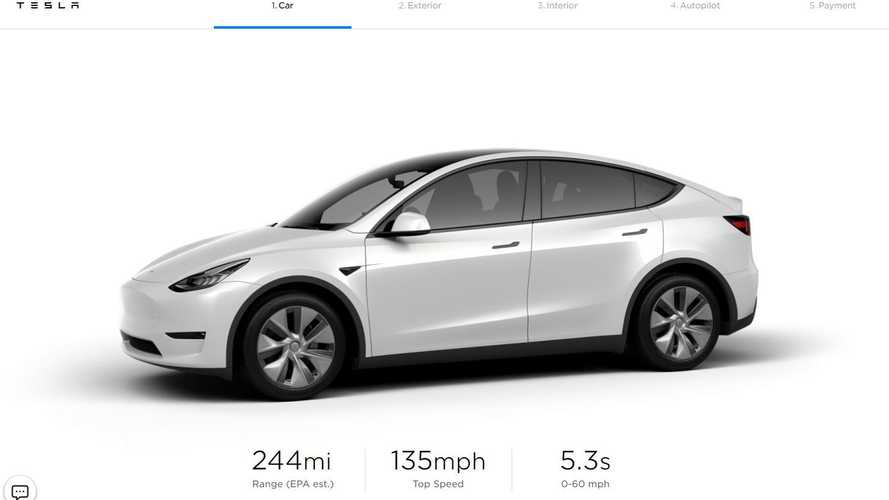 Tesla Officially Launches Model Y Standard Range & Optional 3rd Row