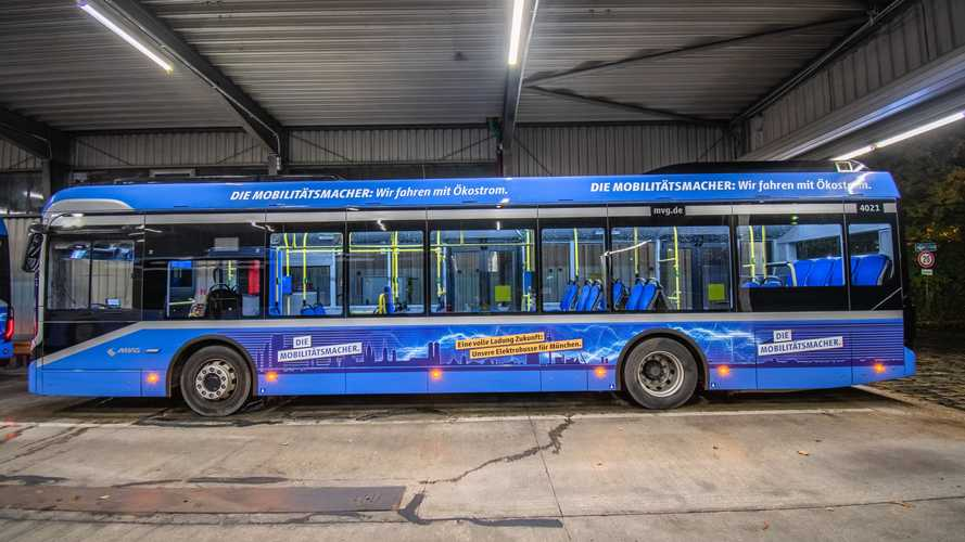 Munich Has Its First Fully Electric Bus Line