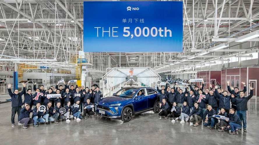 NIO Ramps Up EV Production To Over 5,000 A Month