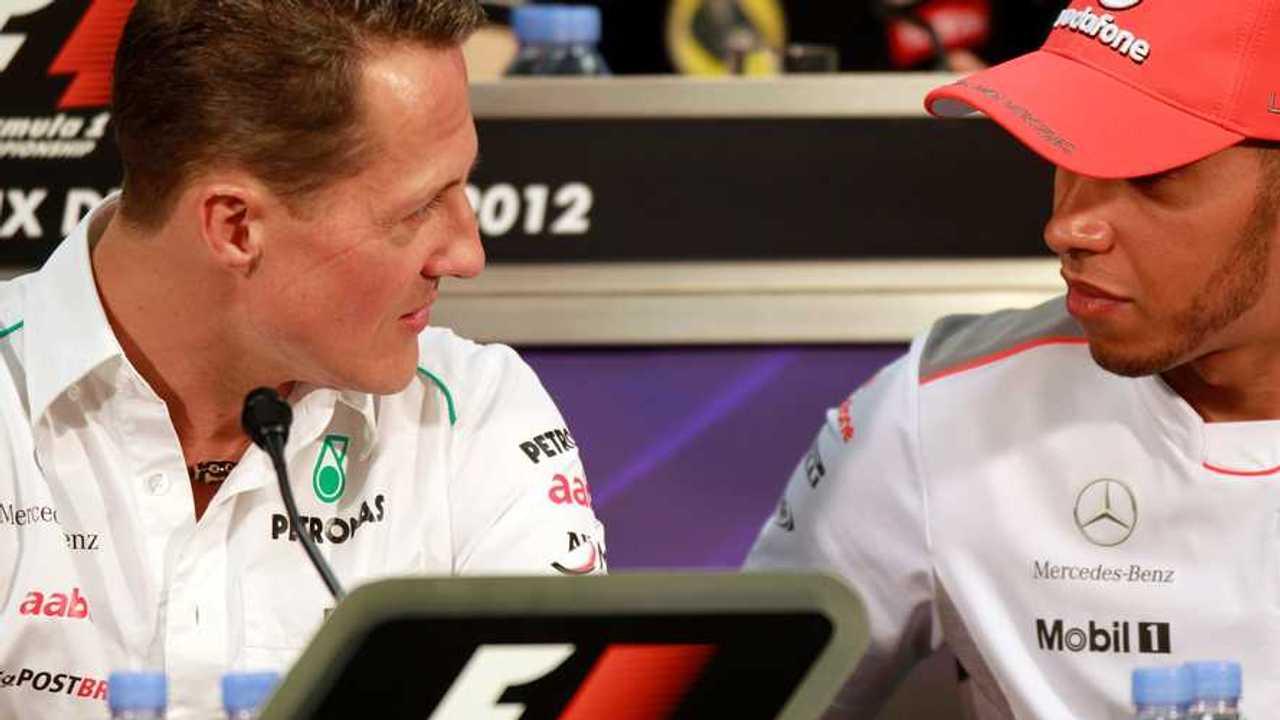 Michael Schumacher, Mercedes AMG F1, Lewis Hamilton, McLaren